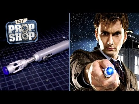 Make a Sonic Screwdriver (Doctor Who) – DIY Prop Shop