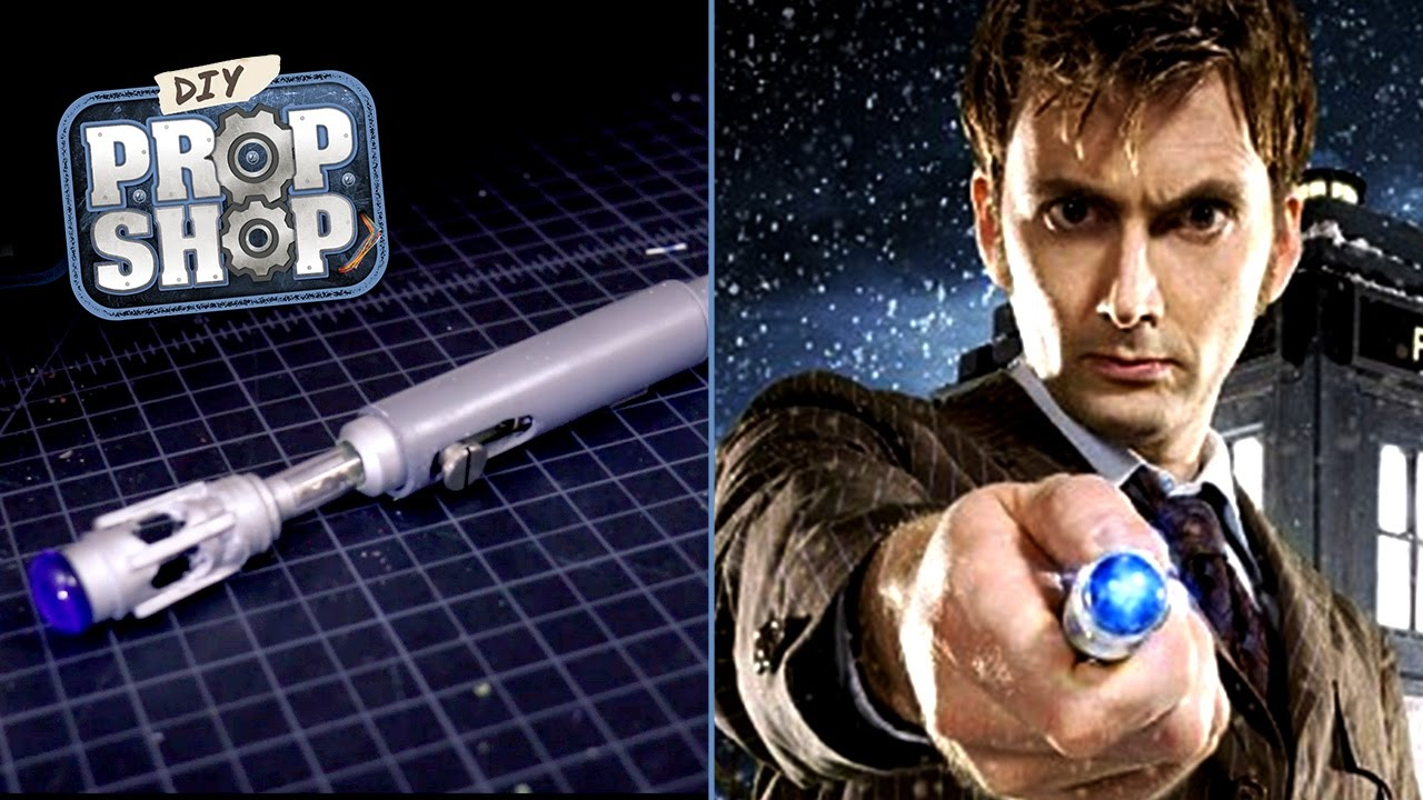 Make a sonic screwdriver doctor who diy prop shop youtube solutioingenieria Image collections