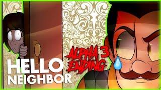 Hello Neighbor Alpha 3 (Ending) | DAGames