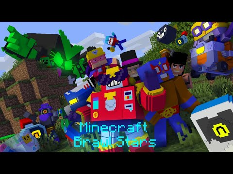 Brawl Stars & Minecraft [Full Part] - Minecraft Animation