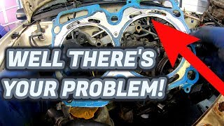 Head Gasket Replacement on a 200,000 Mile Subaru | Part 1