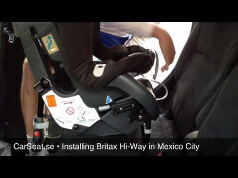 Britax Hi-Way Installation In Mexico City