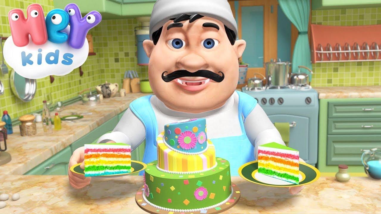 Пекарь нам испечет вкусный торт! Песни Для Детей .tv - Сборник для детей