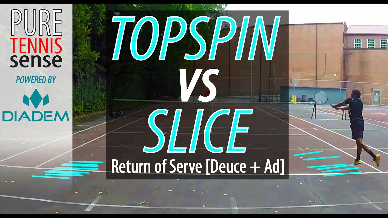 how to hit a topspin serve in tennis