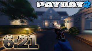 PAYDAY 2 - Hoxton Revenge - Speedrun 6:21m - NO ECM [Solo - DS/OD]