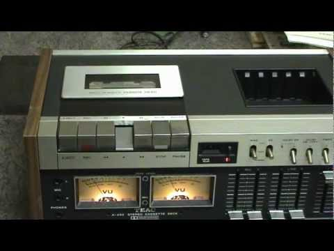 teac a 450 cassette deck cleaning belt change youtube. Black Bedroom Furniture Sets. Home Design Ideas