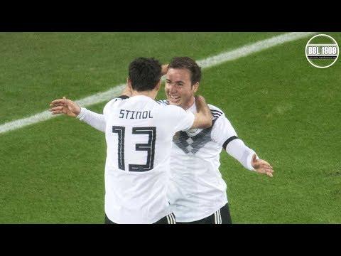 Mario Götze DFB Comeback vs. France Home HD (14|11|2017)