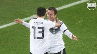 Mario Götze DFB Comeback Vs. France Home HD (14 11 2017)