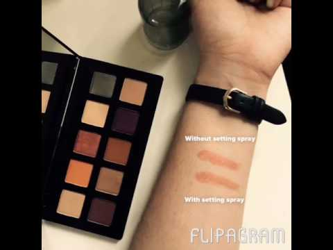 NYX Happy Birthday Palette Review (Ulta 2017 Birthday Gift) - YouTube