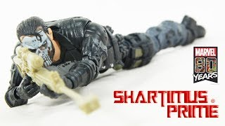 Marvel Legends Punisher 80 Years Camo Pants Fan Channel Exclusive Hasbro Action Figure Review