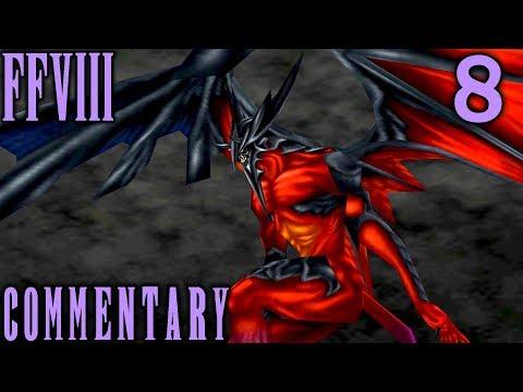 Final Fantasy VIII Walkthrough Part 8 - Diablos GF Summon Boss Battle & 1st Card Game