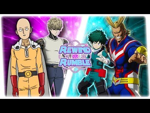 ONE PUNCH MAN vs MY HERO ACADEMIA! (Genos & Saitama vs All