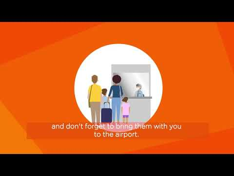 Flying with easyJet - Pre-departure