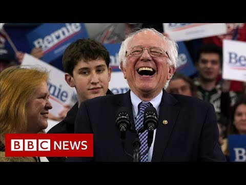 Bernie Sanders' White House bid gathers pace - BBC News
