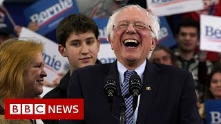Bernie Sanders' White House bid gathers pace - BBC News