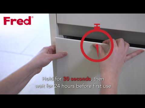 Watch the Fred Lower Drawer Catch you-can-do-it video here
