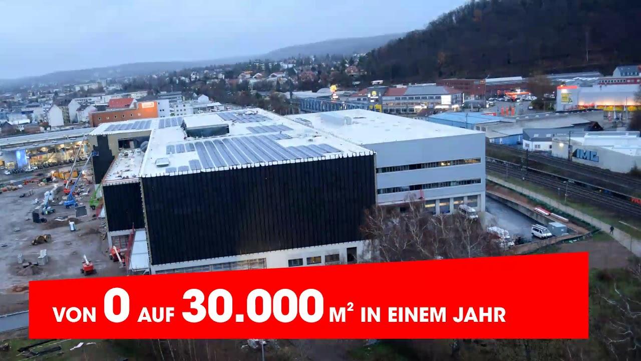 Möbel Martin Neueröffnung Saarbrücken Zeitraffer Qm Youtube