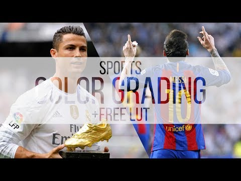Sport Video Color Grading Tutorial +FREE LUT | Premiere Pro, Final Cut Pro X, ect
