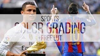 Sport Video Color Grading Tutorial +FREE LUT | Premiere Pro, Final Cut Pro X, ect