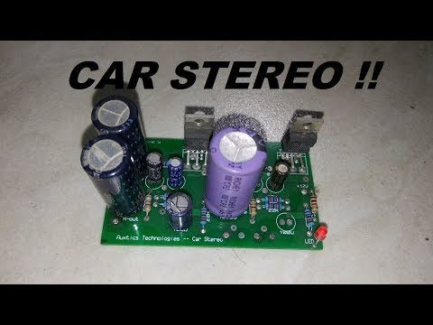 TDA2030 / TDA2050 POWERFUL CAR STEREO AMPLIFIER -- DETAILED TUTORIAL