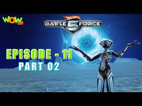 Motu Patlu presents Hot Wheels Battle Force 5 - Artificial Intelligence - Episode 11-P2 - in Hindi