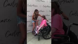 Katy Bowersox Meeting Carly Pearce - 8-5-18