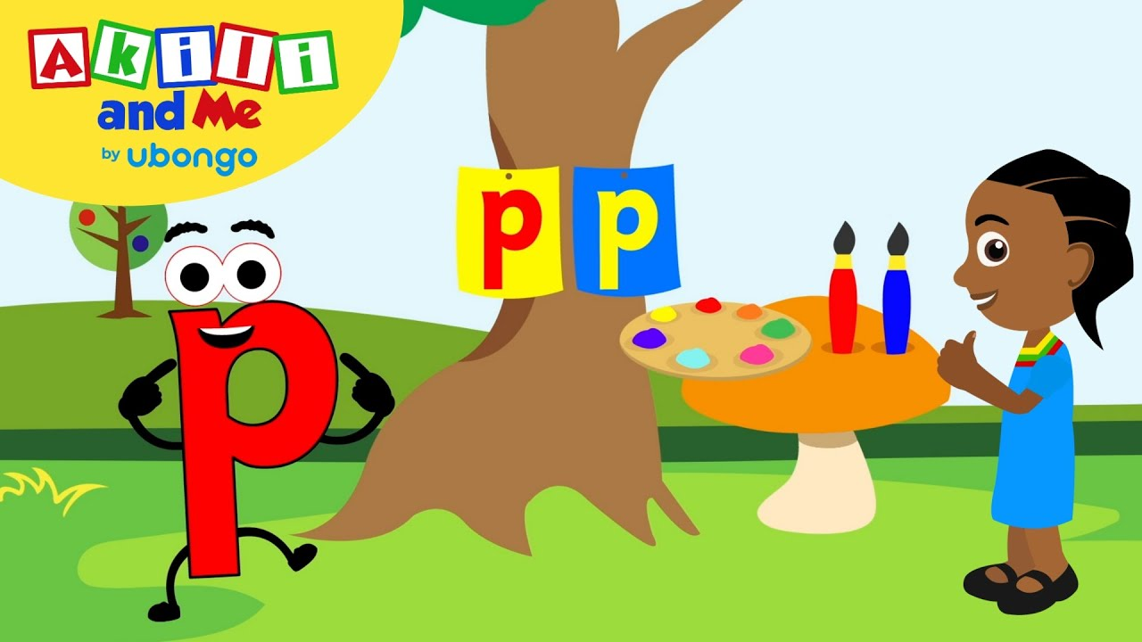 Learn Letter P! | The Alphabet with Akili | Cartoons for Preschoolers