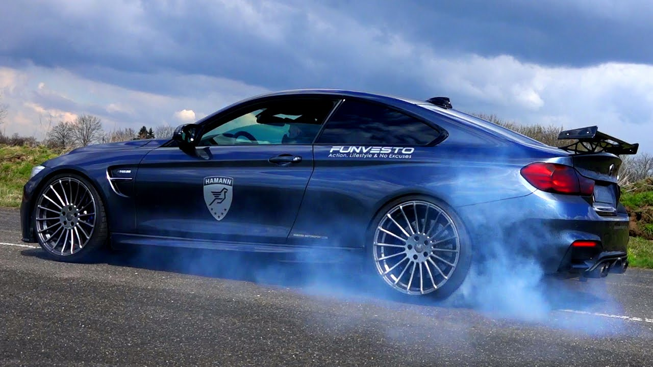 Bmw M4 Hamann Akrapovic Sound Acceleration Launch Control
