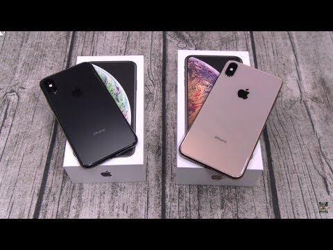 iPhone XS / iPhone XS Max Unboxing and First Impressions