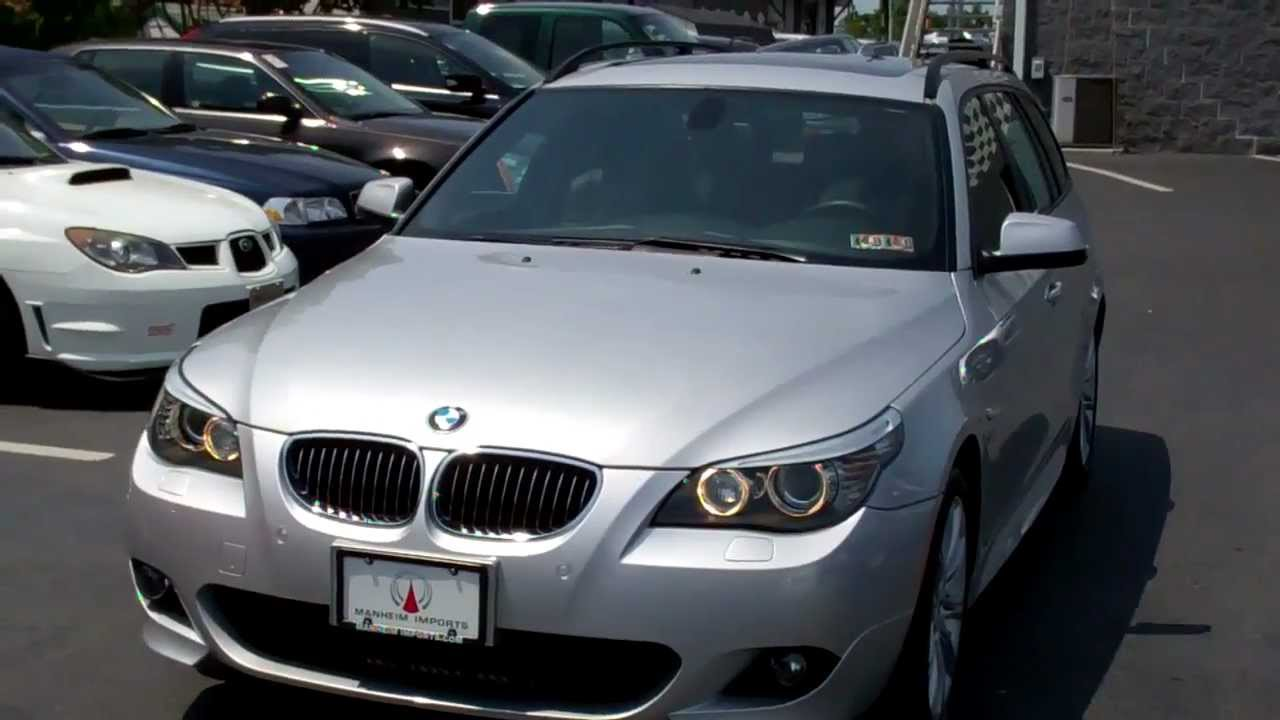 Bmw 535i Sport Package >> 2010 BMW 535i xDrive Wagon M Sport Navigation AWD - YouTube