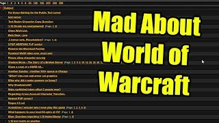 People are Mad About World of Warcraft!... in 2006?