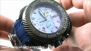 Imperious IMP1030 Gear Head Stainless Steel Chronograph MOP Watch