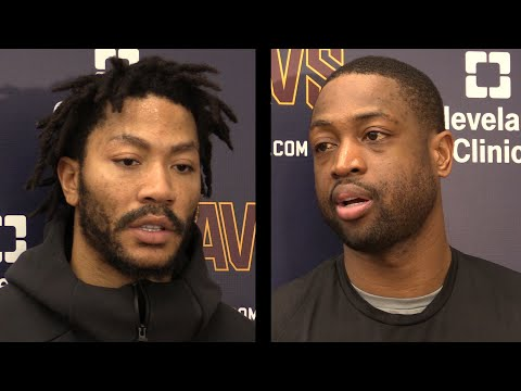 Derrick Rose, Dwyane Wade on playing together in Cavs' second unit