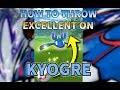 Pokemon GO: How to throw Excellent throws on Kyogre? [OUTDATED] 如何向蓋歐卡拋Excellent球?