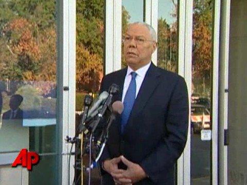 Colin Powell Endorses Barack Obama