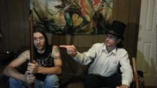 Abraham Lincoln: Vampire Hunter - Weapon Test and Movie Review By Thrand and Eldgrimr