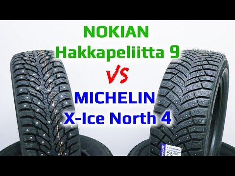 Nokian Hakkapeliitta 9 или Michelin X-Ice North 4 /// ЧТО ЛУЧШЕ ???