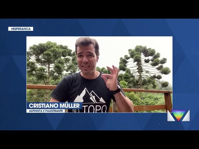 JORNAL VANGUARDA - Mensagem de Esperança - Cristiano Müller