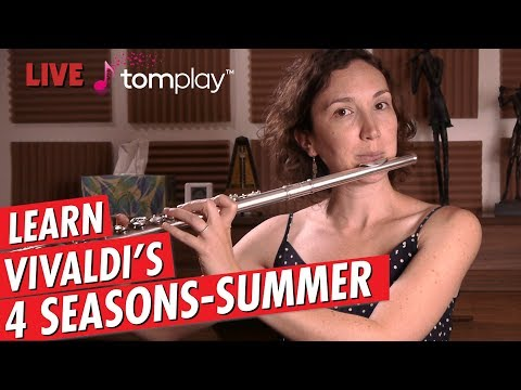 Just Practicing with Amelie   Vivaldi   Summer from the 4 Seasons