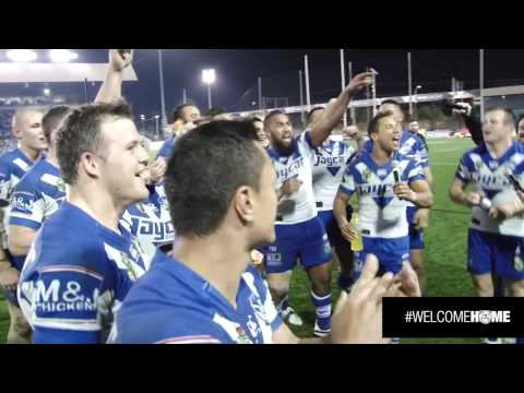 Bulldogs v Storm Victory Song At Belmore