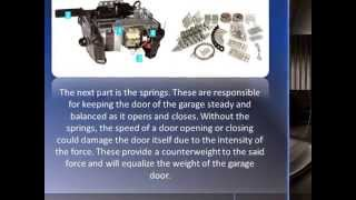 Garage Door Spare Parts : Basic Components Of A Garage Door