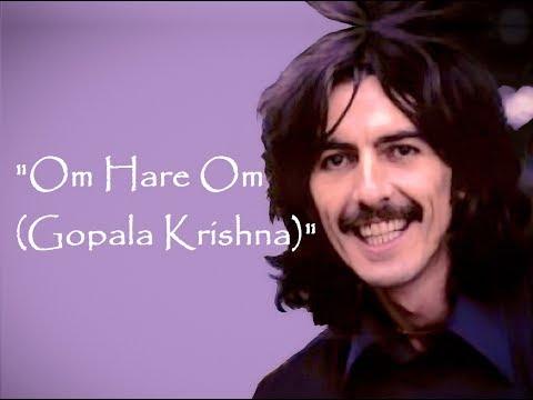 """Om Hare Om (Gopala Krishna)"" (Lyrics) ❤ GEORGE HARRISON ॐ 1969"