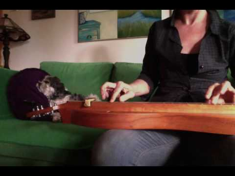 """ Mother's pretty dove "" Shaker song on mountain dulcimer"
