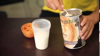 Костя Цзю готовит Energy Diet Капучино