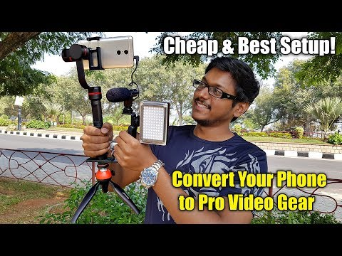 Convert Your Phone to a Pro Video Gear in the Cheapest Way!