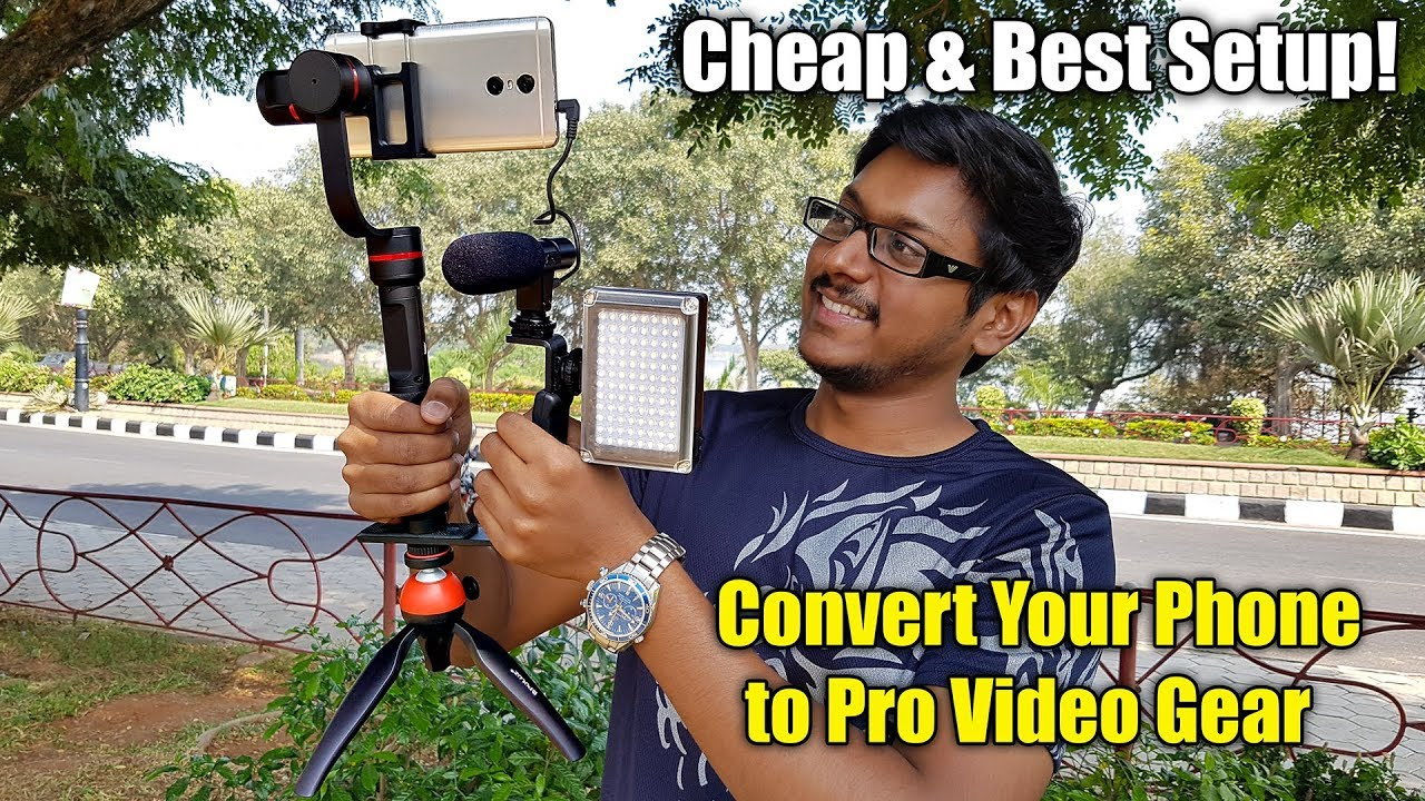 convert your phone to a pro video gear in the cheapest way youtube. Black Bedroom Furniture Sets. Home Design Ideas