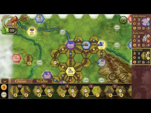 Steam Rails to Riches - iOS - Short Lets Play
