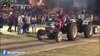 Farmtrac Vs Mahindra Arjun Tractor Tochan Punjab 3