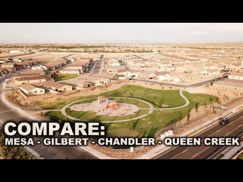 Compare: Mesa, Chandler, Gilbert, Queen Creek