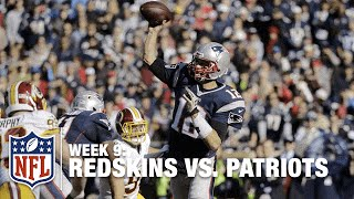 Keenan Robinson Picks Off Tom Brady, Gets Taken Out by Brady! | Redskins vs. Patriots | NFL